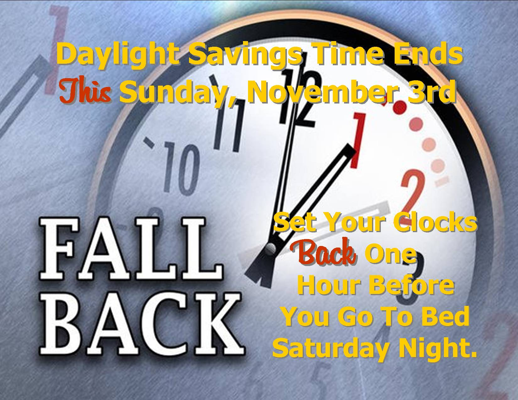 fall back this 2013